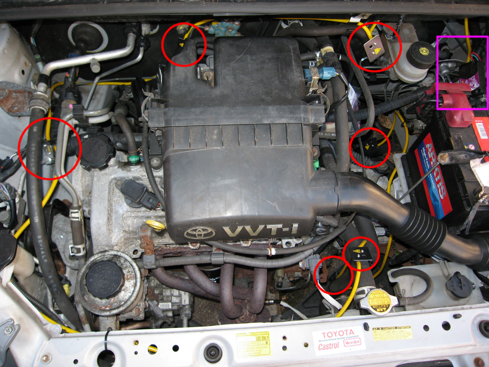 Lampen Toyota Auris : Toyota yaris
