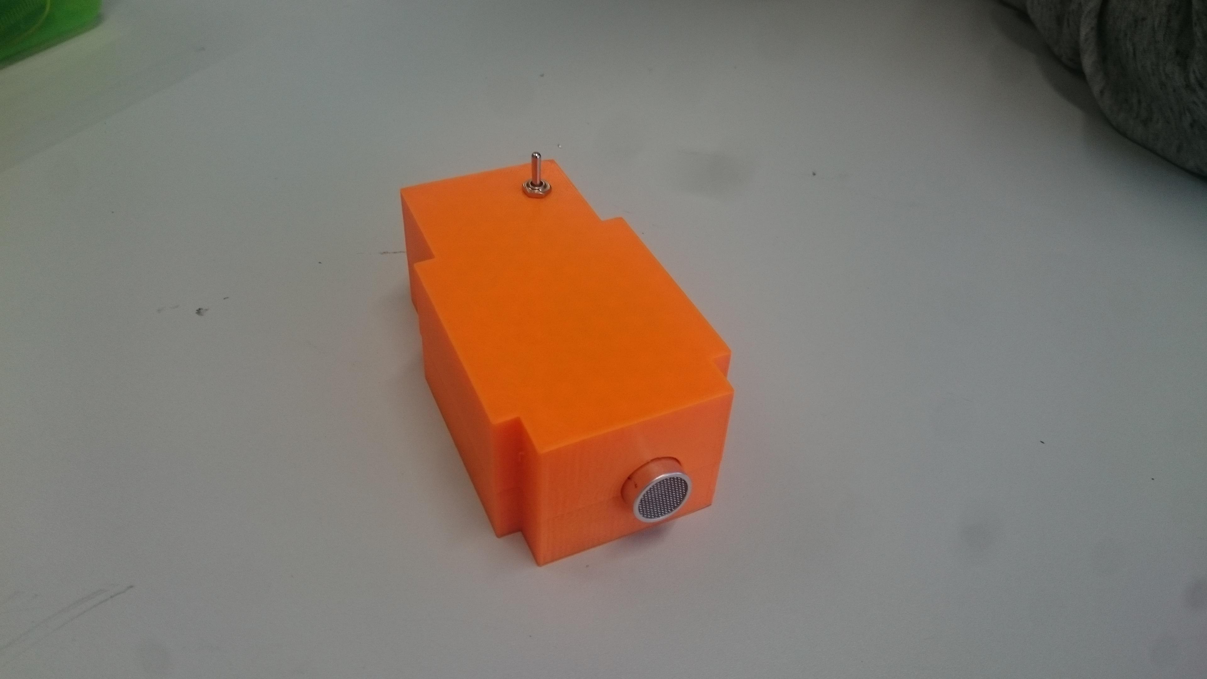 Ultraschall Entfernungsmesser Schaltplan : Struktogramm